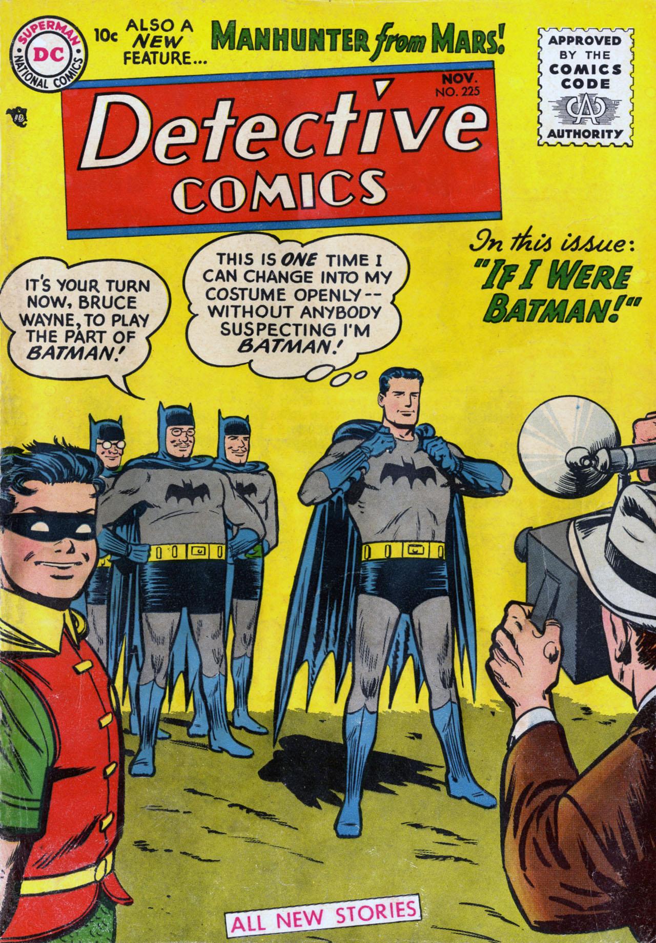 Detective Comics (1937) 225 Page 0