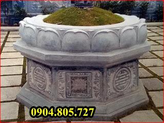 Mộ hình lục giác bằng đá - 210952