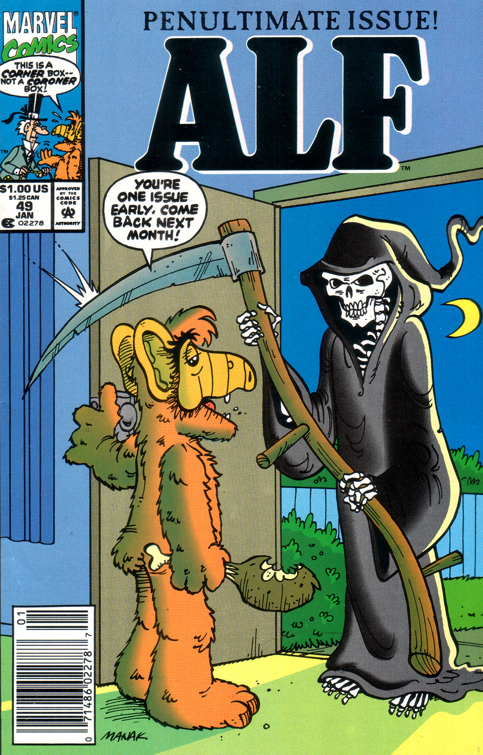Read online ALF comic -  Issue #49 - 1