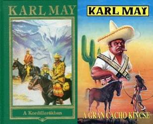 Karl May A Kordillerákban könyv bemutatása