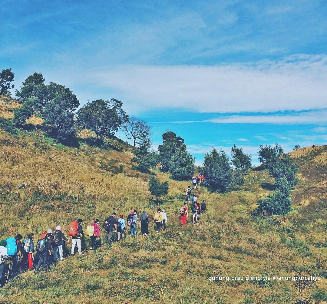 Gunung Prau Dieng via @anungnurcahyo