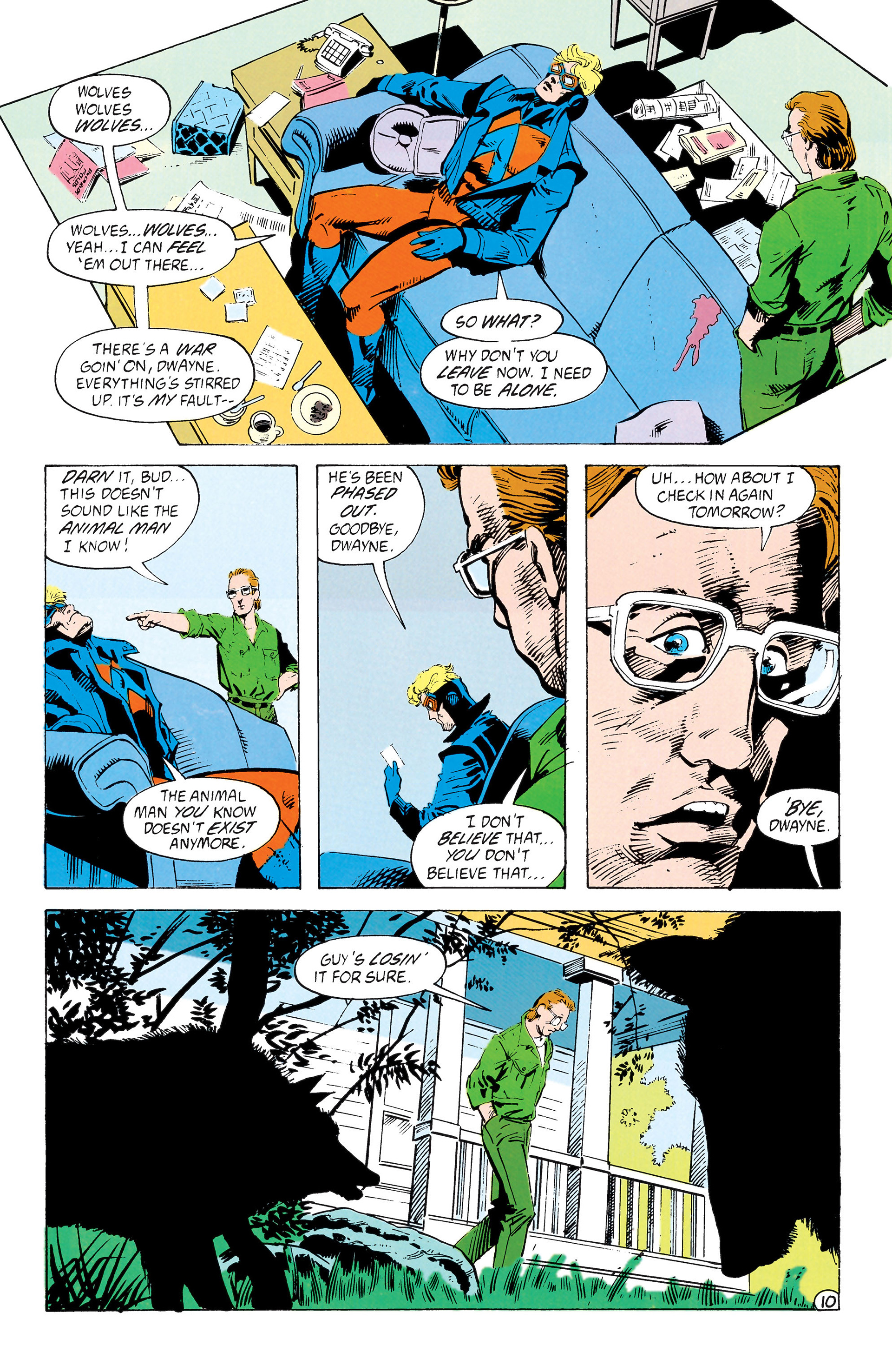 Read online Animal Man (1988) comic -  Issue #39 - 11