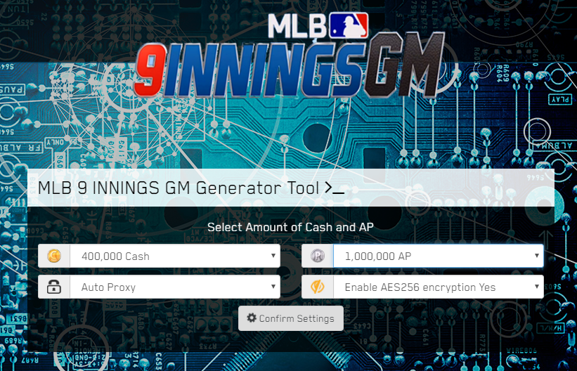 MLB 9 Innings GM Hack