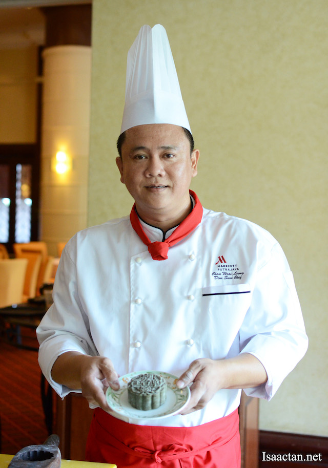 Chef Chan Wooi Leong of Summer Palace Restaurant, Putrajaya Marriot Hotel