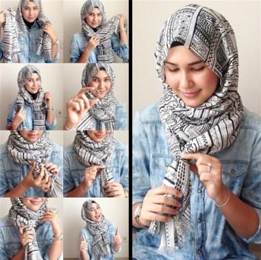 Hijab Simple Tanpa Jarum
