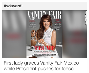 vanity fair mexicos cover recycles photo