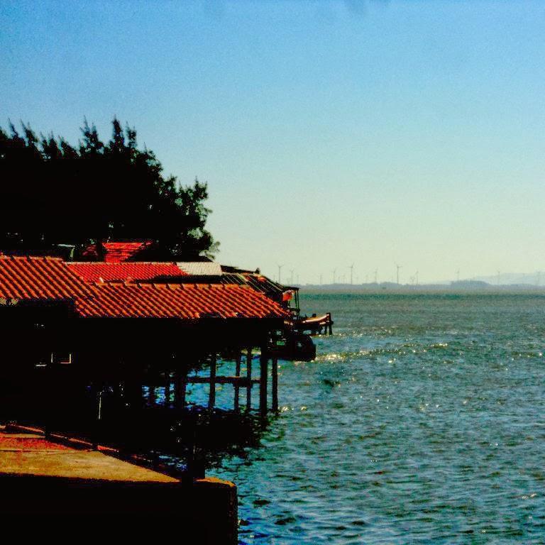 Lagoa de Tramandaí ao Fim da Tarde