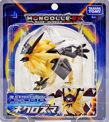 Necrozma figure Dusk Mate hyper size Takara Tomy MONCOLLE EX EHP 13 package