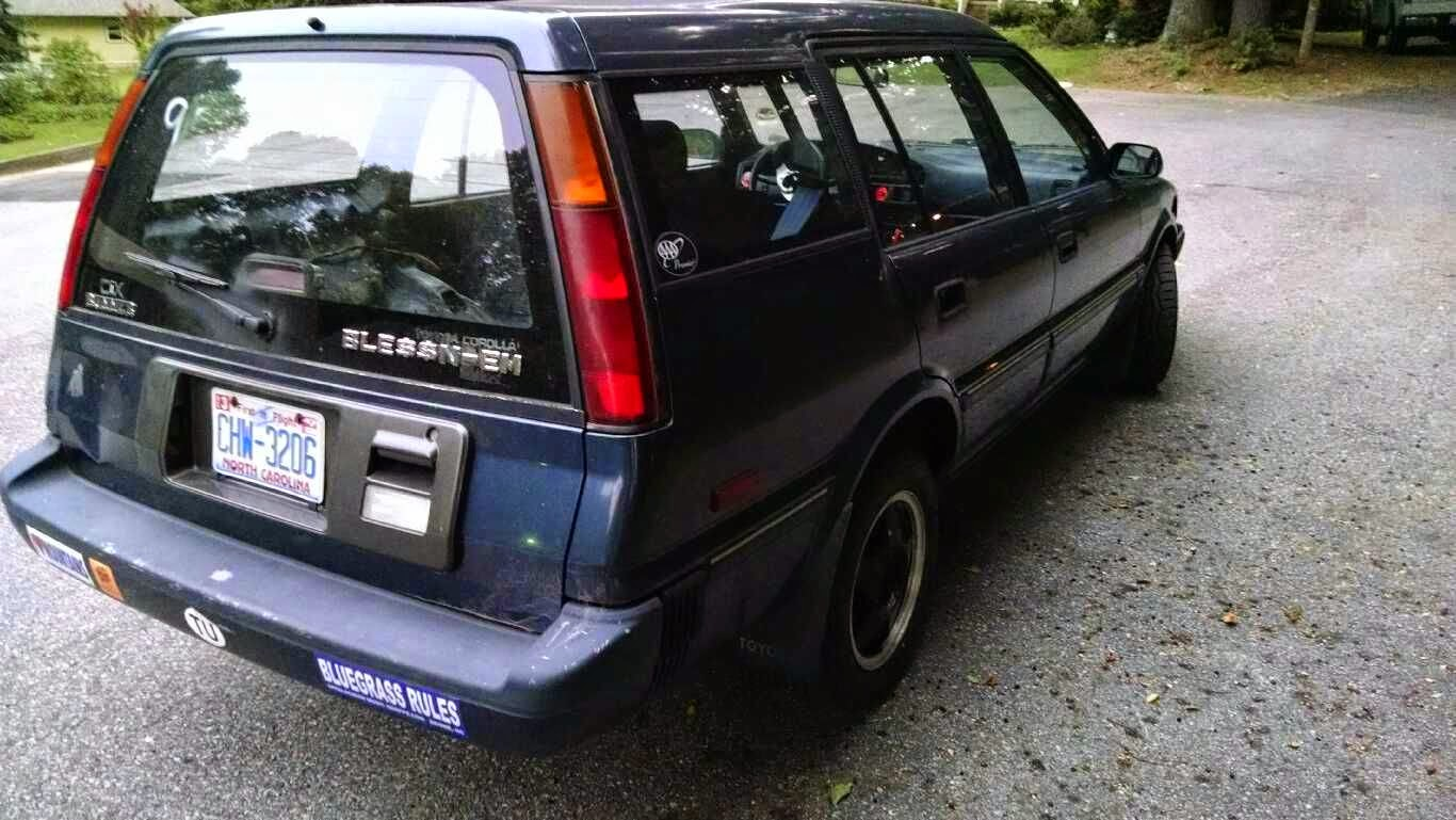 Daily Turismo: 1k: Bluegrass Rules: 1991 Toyota Corolla All-Trac