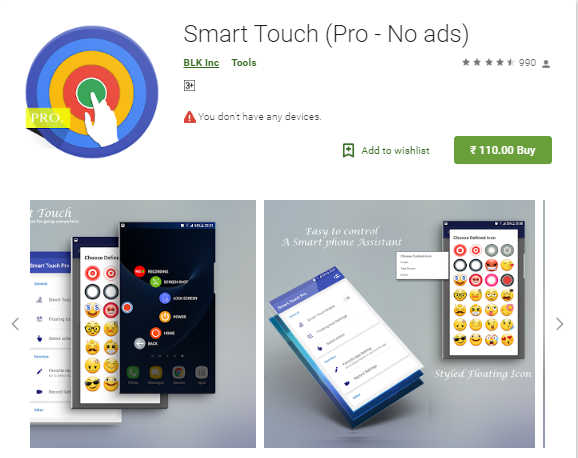 Smart Touch (Pro - No ads) v3.0.1 [Paid].apk