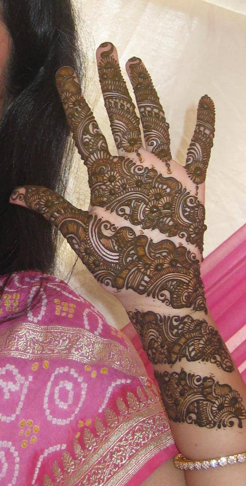 Bridal Mehandi Designs for Hands 1