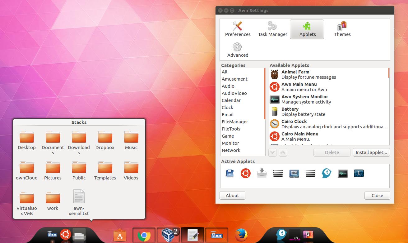 How To Install Avant Window Navigator In Ubuntu 16 04 Or