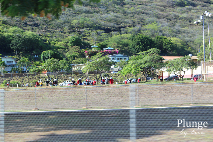 American football in Oahu