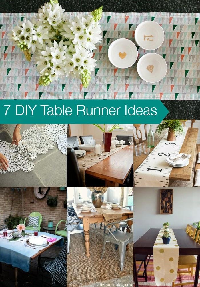 7 diy table runner