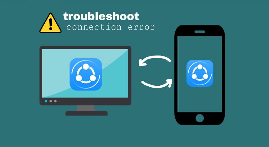solusi tidak bisa mengirim file dengan SHAREit