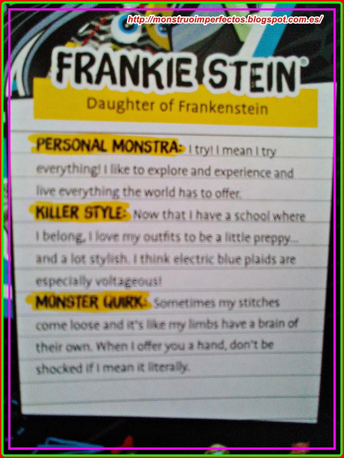 Perfecto Monstruo Alto Frankie Stein Para Colorear Motivo - Dibujos ...