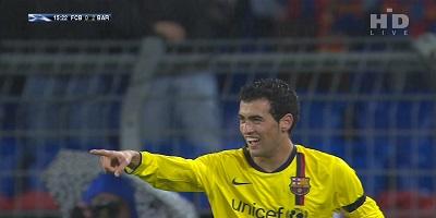 UEFA Group C : Basel 0 vs 5 Barcelona 22-10-2008