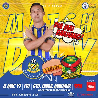 Live Streaming Pahang vs Kedah Liga Super 8.3.2019