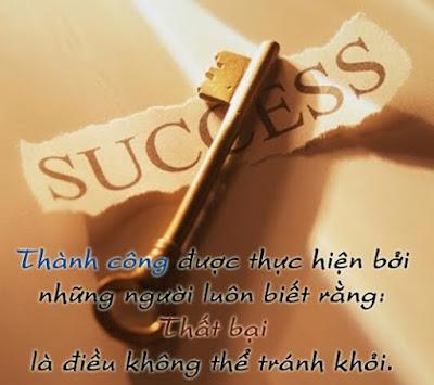 Thành công bắt đầu từ sự nổ lực