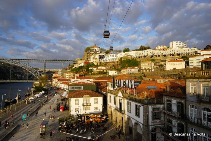Terraço do Espaço Porto Cruz, Vila Nova de Gaia