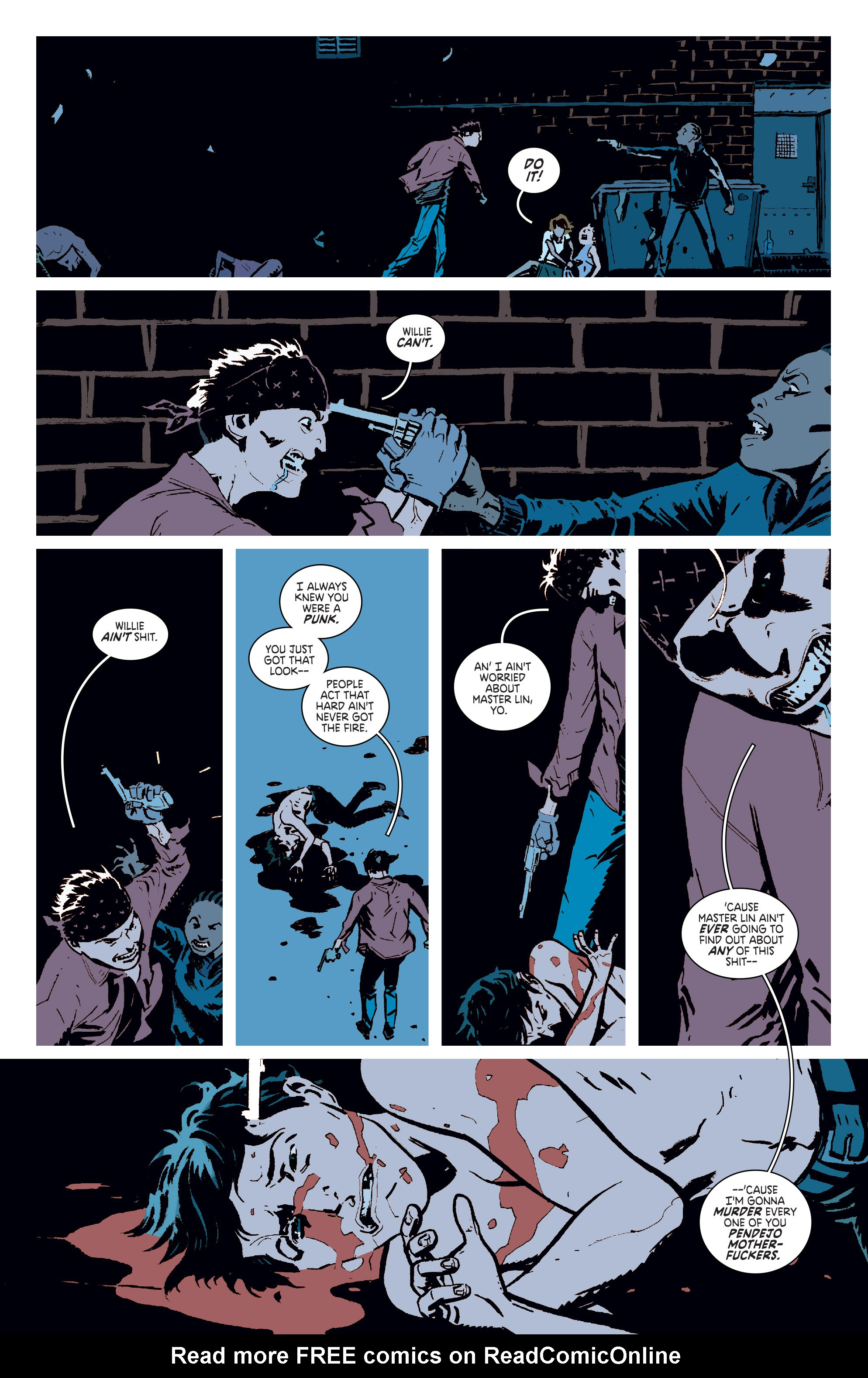 Read online Deadly Class comic -  Issue #6 - 16