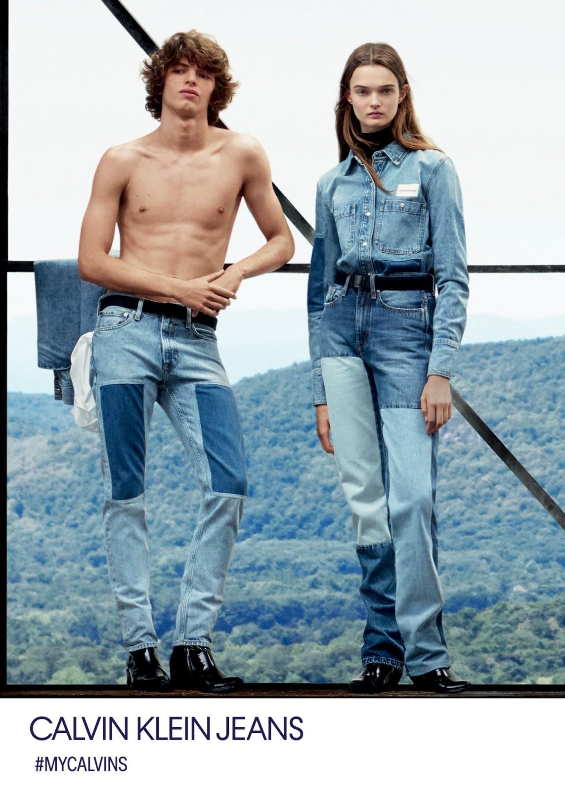 A campanha revela a visão democrática de Raf Simons sobre o jeans, enquanto  ao mesmo tempo honra a tradição da Calvin Klein Jeans de defender esse  espírito ... 29471f92a3