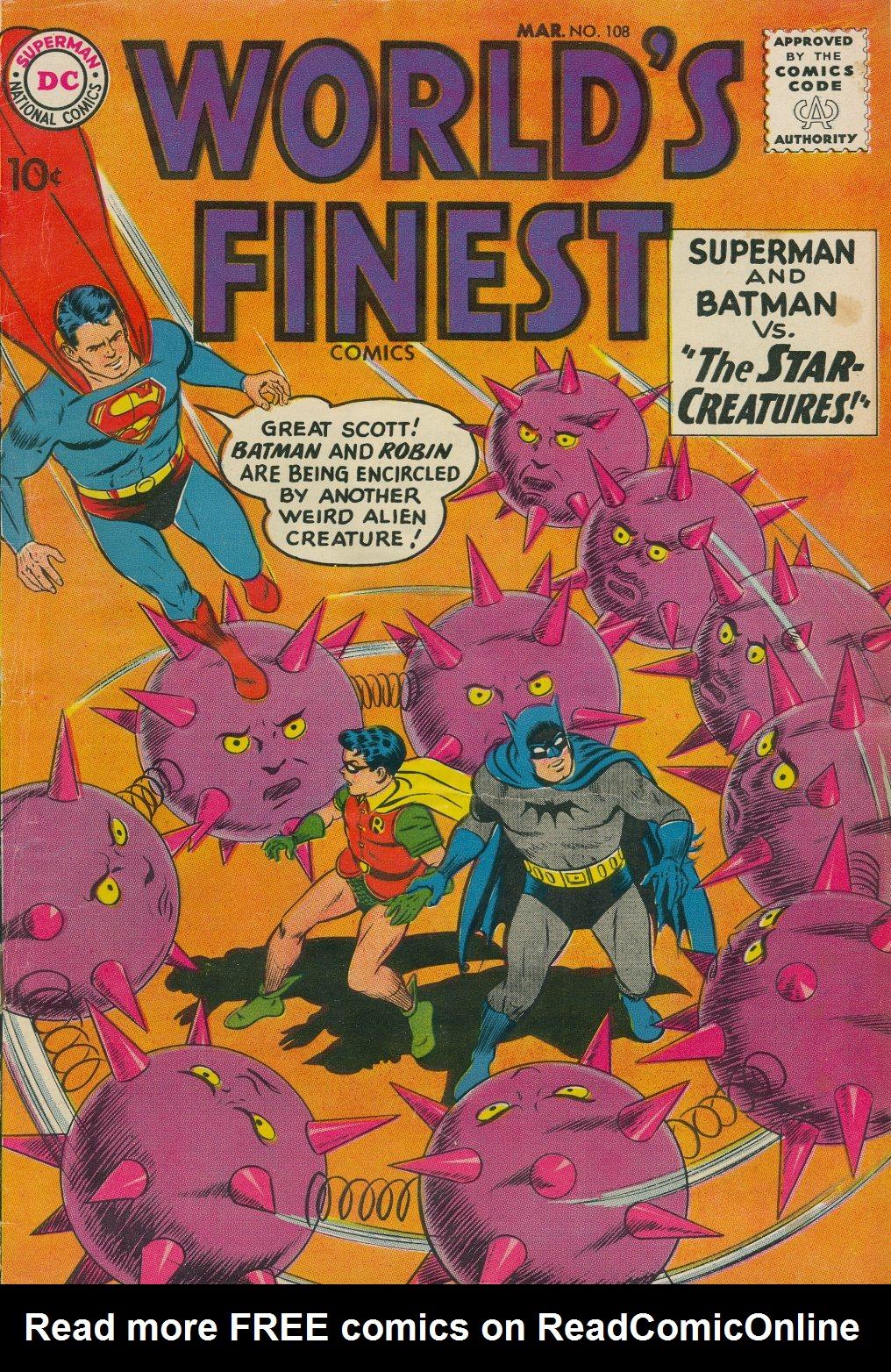 Read online World's Finest Comics comic -  Issue #108 - 1