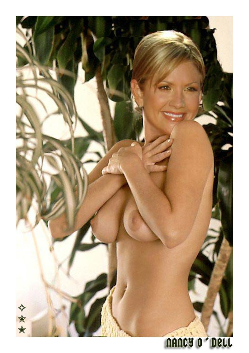 Nancy o'dell nude, topless pictures, playboy photos, sex scene uncensored