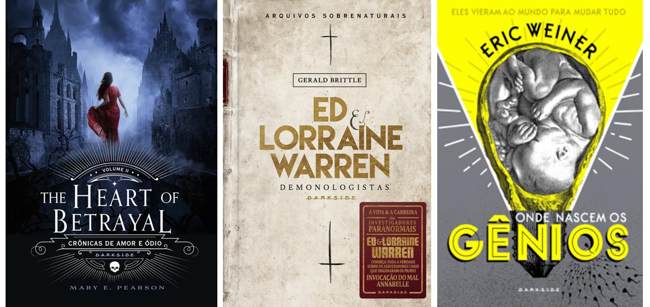 Lançamentos de outubro DarkSide Books, Coisas de Mineira, Lançamentos, News