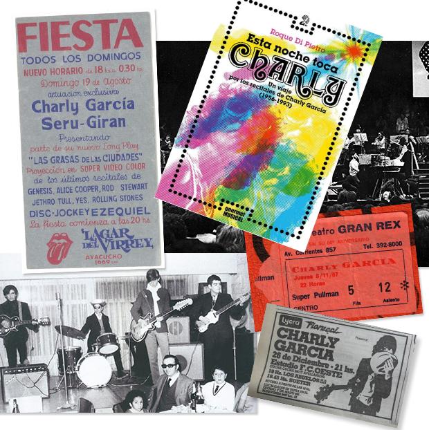 """Salió """"Esta noche toca Charly. Un viaje por los recitales de Charly García de 1956 a 1993"""""""