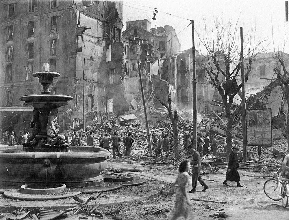 bombing of milan