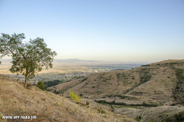 Panorama - view from St. Iliya monastery - Krklino village - Bitola Municipality