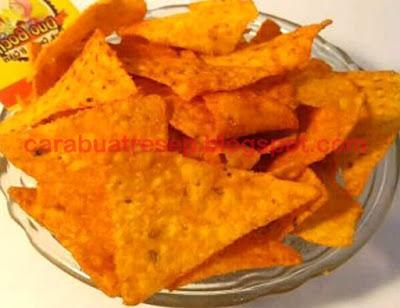 Foto Resep Keripik Jagung Tortilla Chips Renyah Crispy Sederhana Spesial Asli Enak