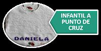 INFANTIL A PUNTO DE CRUZ
