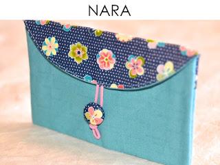 Etui Nara aus japanischen Stoffen von Noriko handmade, handgemacht, Einzelstück, Unikat, Design, Täschchen, Mäppchen