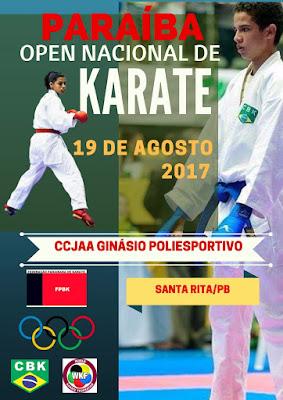Paraíba Open Nacional de Karate