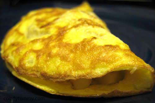 resep telur dadar tempe