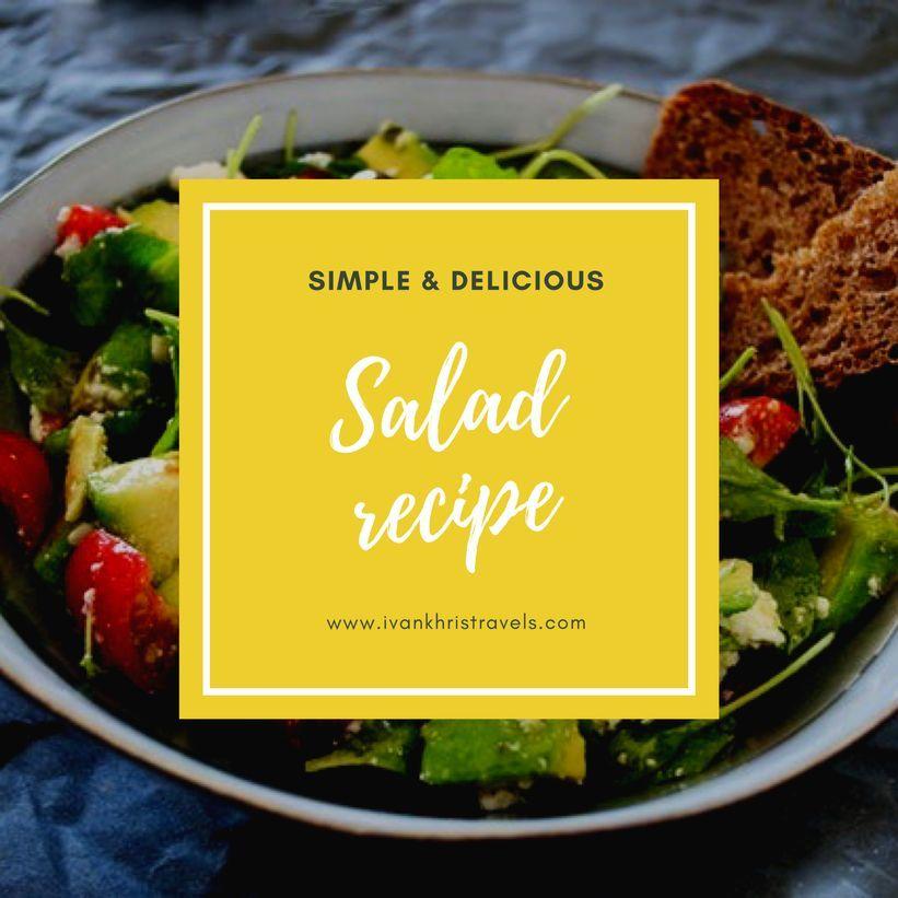 Pansit-pansitan salad recipe