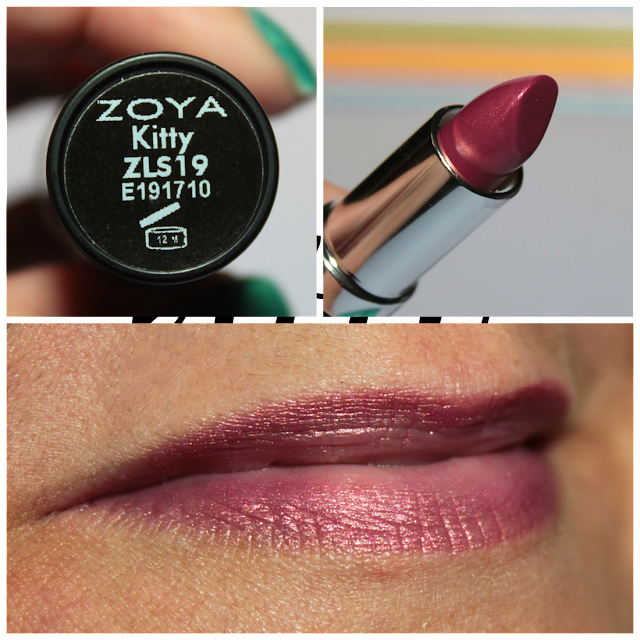New Zoya Lipsticks - Kitty
