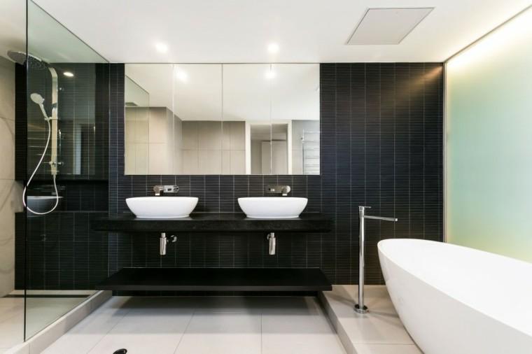 Tend ncia modernas em casa de banho decora o e ideias - Duchas pequenas ...