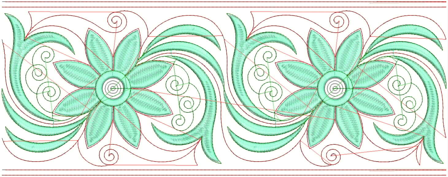 Embdesigntube Fancy Lace Embroidery Designs