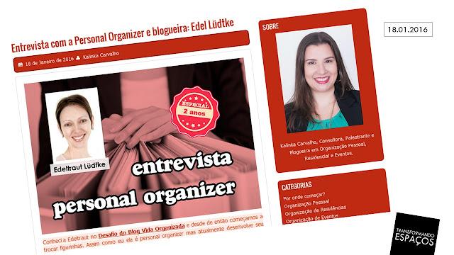 Minha Entrevista no blog da Kalinka Carvalho