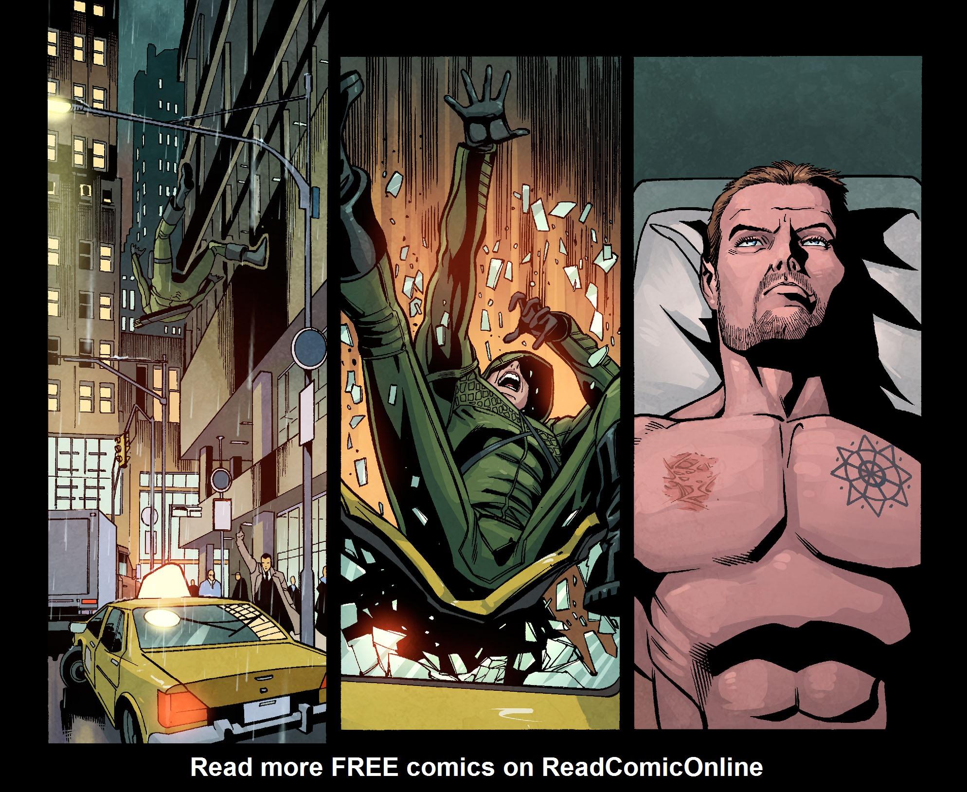 Read online Arrow: Season 2.5 [I] comic -  Issue #9 - 7