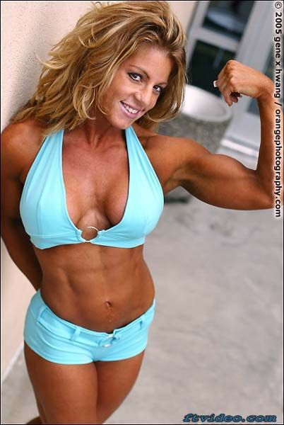 Andrea Dumon - Female Fitness Models