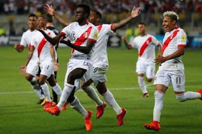 Peru Lengkapi 32 Negara di Piala Dunia 2018