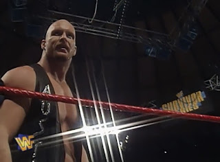 WWF / WWE SURVIVOR SERIES 1996: Steve Austin looked like a star against Bret Hart