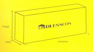 bata ringan blesscon