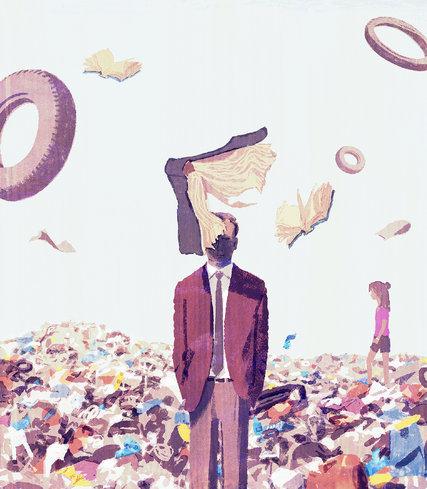 Ilustración de Tatsuro Kiuchi en NYT