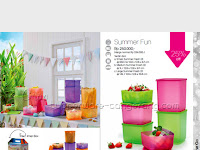 Summer Fun  ~ Katalog Tupperware Promo Juli 2016