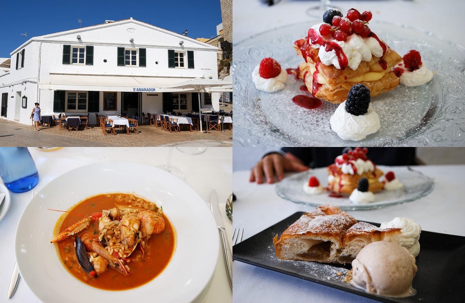 restaurant s'amarador Instagrammable Places Menorca Spain